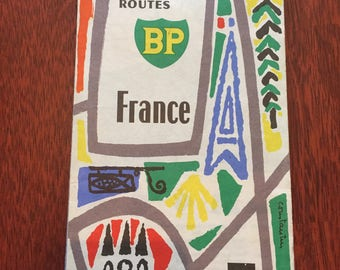 BP map of France