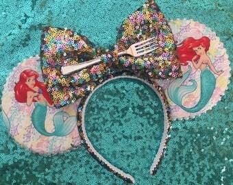 The Little Mermaid Ears, Ariel Ears