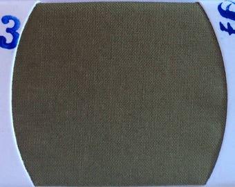 Plain cotton lawn fabric, khaki green no13