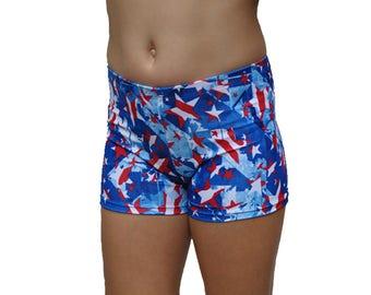 Stars Shorts, Youth Spandex Shorts