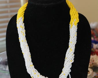 African Necklace, Beads Necklace, Handmade Necklace, Women Necklace