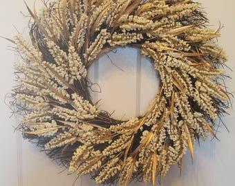 Fall wreath/ holiday wreath/ housewarming wreath/ housewarming gift/ top selling wreath / front door wreath/ autumn wreath F19&20
