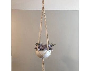 Cotton Macrame Plant Hanger
