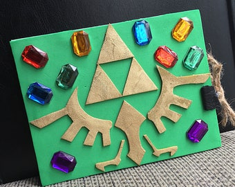 Zelda Triforce guest book