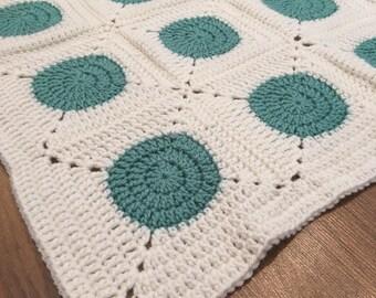 Baby blanket / geeen baby blanket / Newborn baby blanket / handmade baby blanket