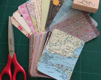 Journaling Cards / Set of 10 / Project Life cards /Journaling