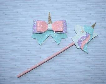 Unicorn wand set
