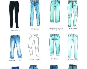 Jeans Chart