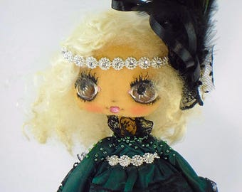 Textile doll, dolls handmade,fabric dolls, antique dolls, hand made, cloth dolls, art dolls,handmade dolls, vintage dolls