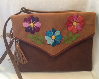 HIPPIE STYLE BAG synthetic leather