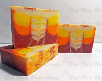 Mango Mambo Cold Process Soap