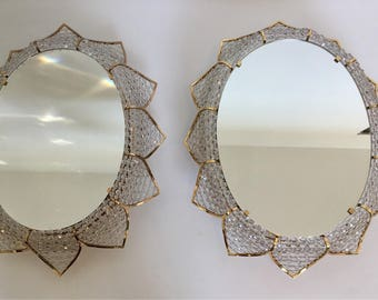 A few Palwa illuminated mirror wall lamps mid century modern