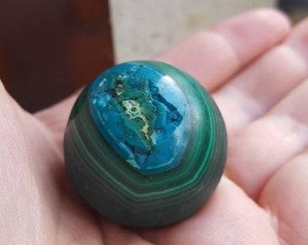 Mallacolla Sphere  Gemstone,Chrysocolla & Malachite