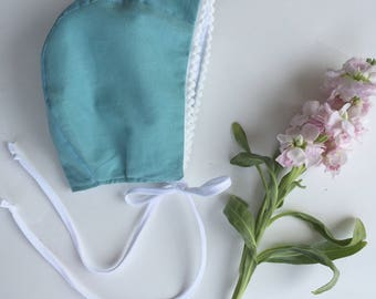 Baby bonnet// organic cotton bonnet