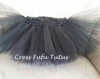 Toddler Black Tutu|Toddler Tutu|Birthday Tutu|Black Tutu|Toddler Halloween Tutu|Smashcake Tutu