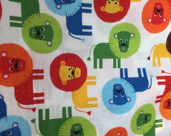 Fat quarter approx 18/22 inches Robert Kaufman Urban Zoologie