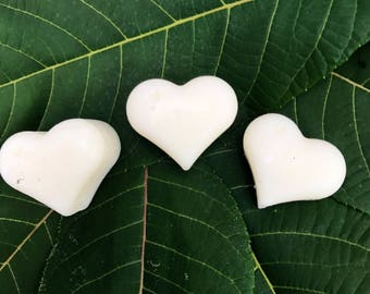 Heart Shaped Soy Wax Melts ( 6-pack)