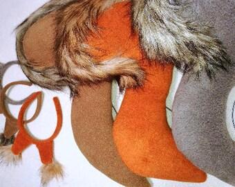 Squirrel tail / squirrel costume / Kids squirrel costume / squirrel dress up / handmade costume / Halloween costume