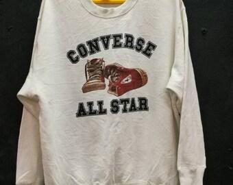 vintage sweatshirt converse all star chuck taylor