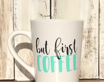 But first, coffee mug.