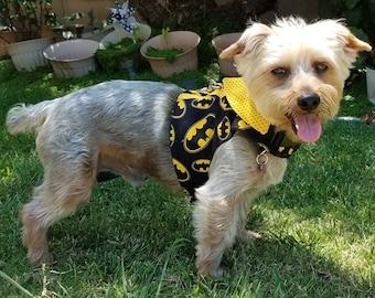 Boy Dog Harness Vest