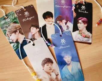 Monsta X Bookmarks