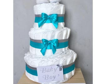 Birth gift diaper cake