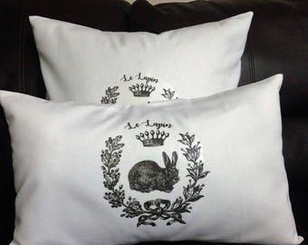 Rabbit Pillow Cover