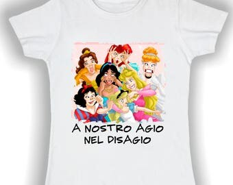 Women's Basic t shirt at ease discomfort