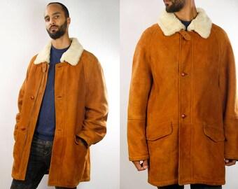 Sheepskin jacket | Etsy