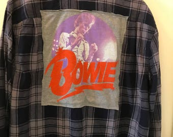 Bowie Flannel- one available size large