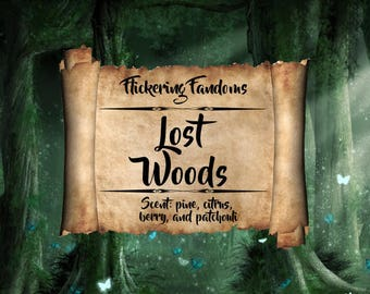 Lost Woods | 4 or 8 oz scented candle