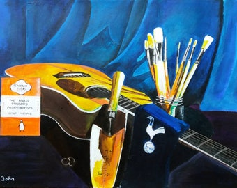 Personalised still life artwork (picture is only an example)