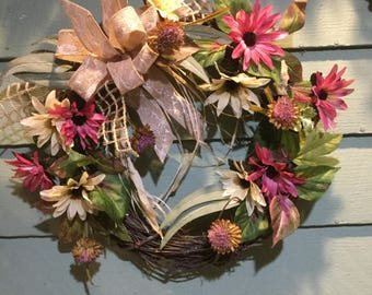 WILDLY ROMANTIC WREATH
