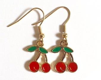 Amazing Cherry Earrings