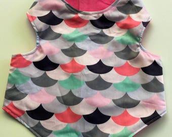 Shell patterned Dog Jacket
