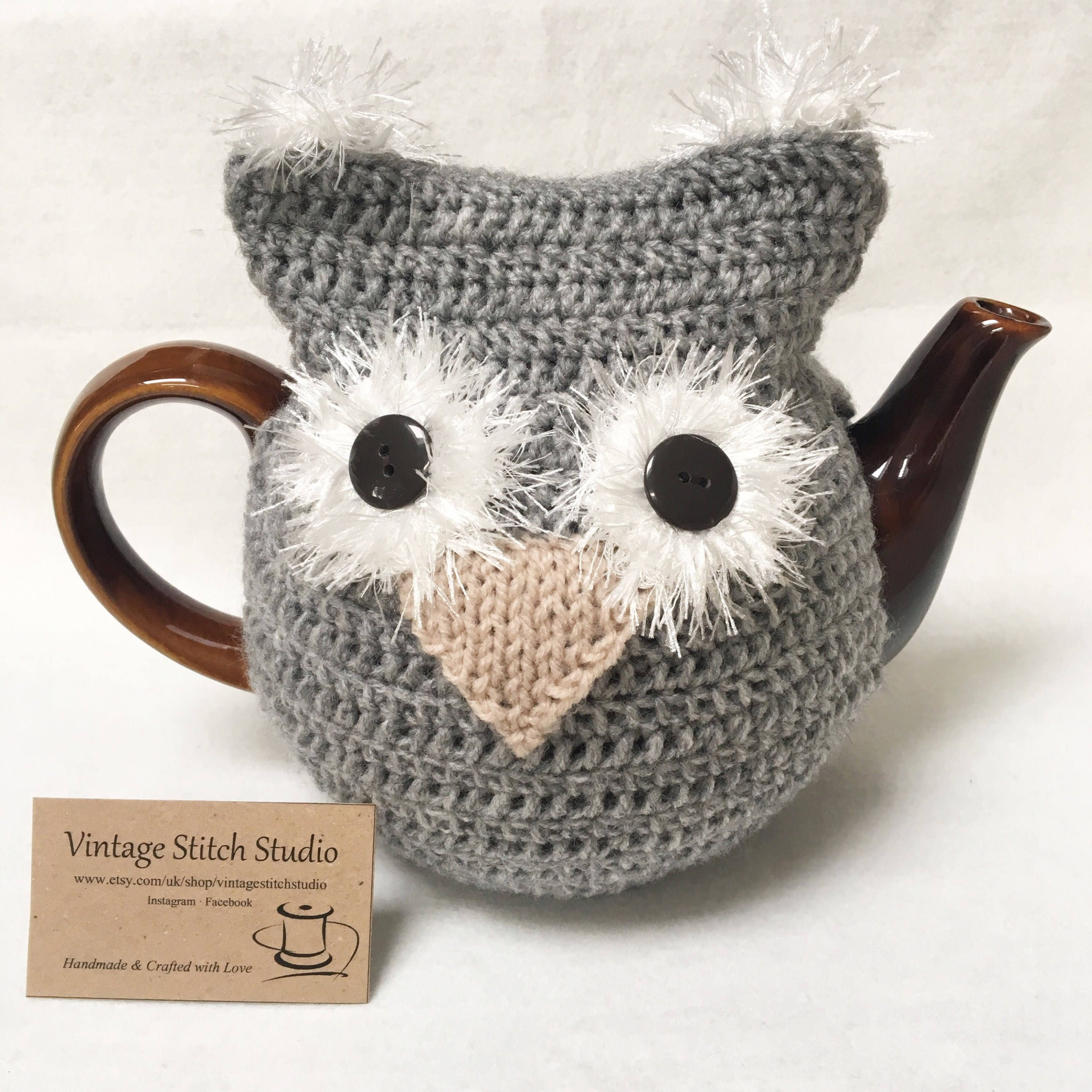 owl tea cosy teapot cosy knitted tea cosy teacher gift cost new home wiring cost new home survey