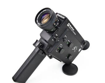 Limited time offer Sankyo XL 320 Supertronic Cine Camera with 10-30mm f/1.2 Macro Lens c. 1978-81