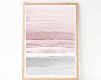 OVERSIZED Print, Large Watercolor PRINTABLE Art, 24x36 Abstract Printable Art, Large Wall Art, 24x36 Print, Large Living Room Art, Printable