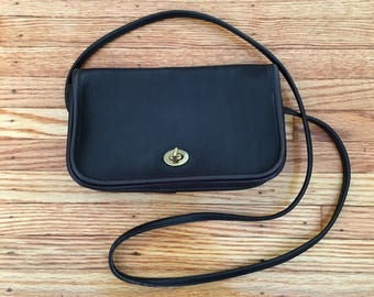 80's Coach Bag Black Small