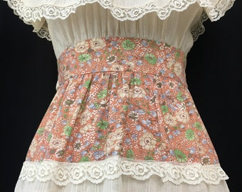 70's Candi Jones Prairie Sundress