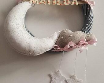 Handmade birth Bow