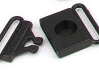 3/4 Inch Breakaway Center Release Plastic Buckles ~ Pack of 5