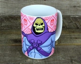 Skeletor Mug gifts for MOTU lovers 80s kids toys He-Man's rival masters of the universe
