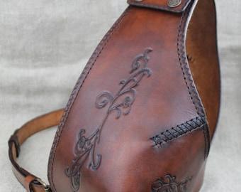 Leather archer bowman FEMALE plastron chest protector armour LotR Tolkien Lord of the Rings Elves larp fantasy ranger Dunedain