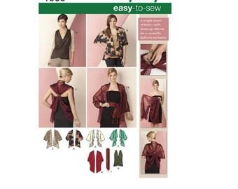 Simplicity Pattern 1588 - Kimono Jacket & Wrap