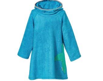 Terry Dress Caribbean Blue