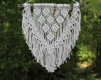 Macrame Wall Hanging // Macrame Hanging // Wall Tapesty // Home Decor // Ready To Ship