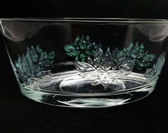 Glitzernde Lotus Glas Herzstück. Tisch Dekoration. Kerze Halter. Kleine  Pflanzenhalter.