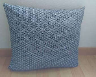 "Cushion cover ""SAKI"" Black and white 40 X 40 cm"